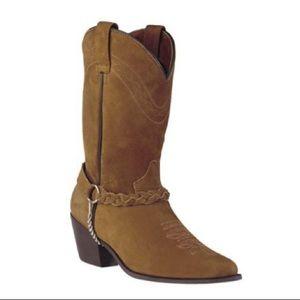 Dingo DI07320/21 Tan Distressed Cowgirl Boots